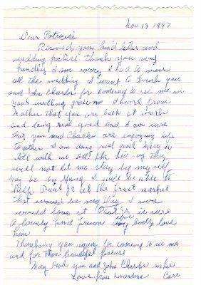 Sample Love Letter To Husband On Wedding Day - WhatsApp Status
