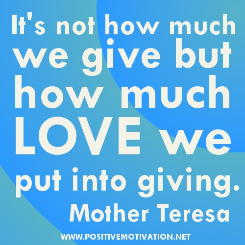 Giving Love Quotes: PVE Design