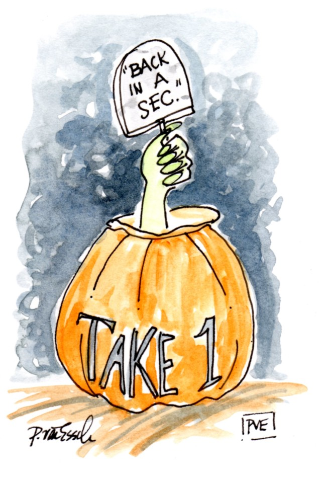 take one - trick or treat