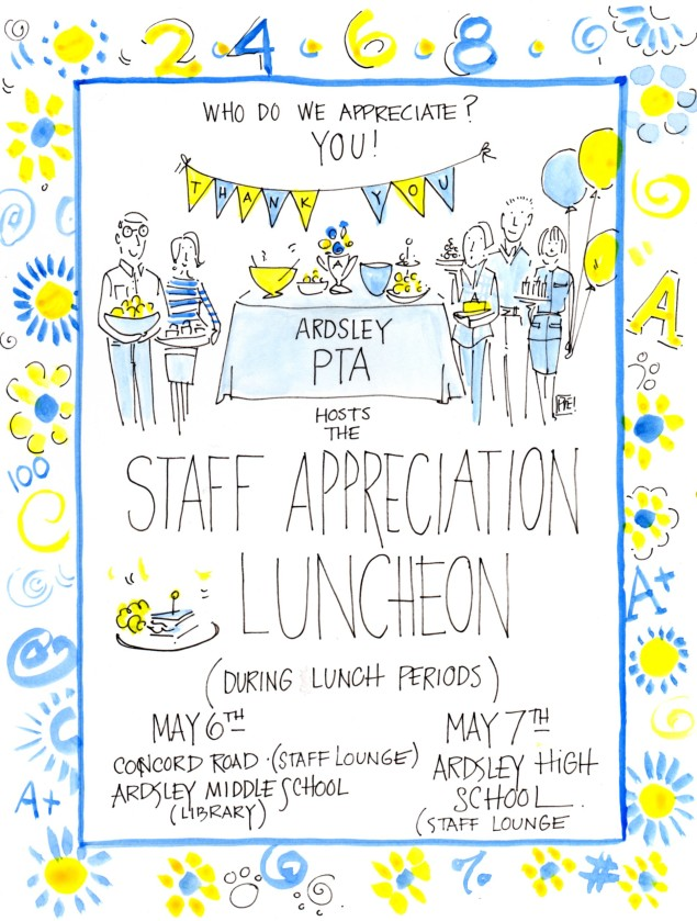 employee appreciation lunch invitation | just b.CAUSE