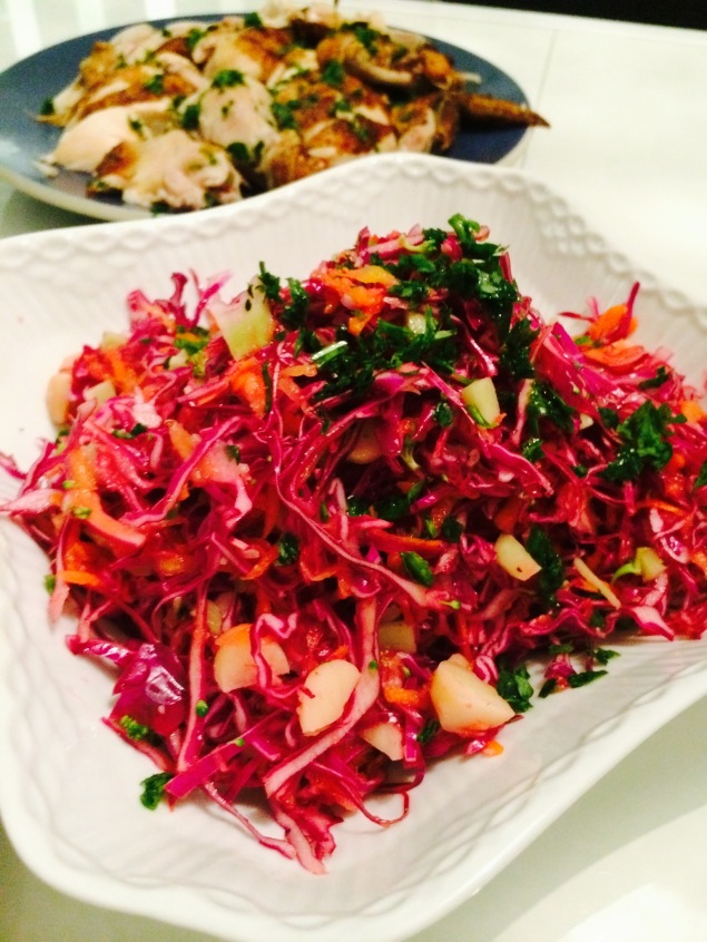 PvE - Paleo slaw-photo