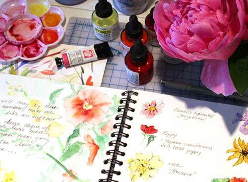 I dream of sketchbook