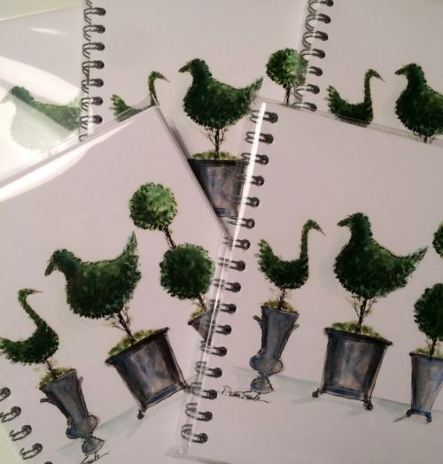 PvE - Topiary Trio notebooks-photo