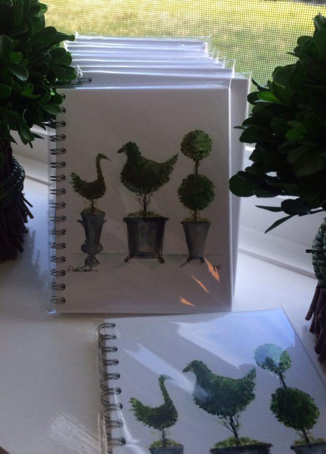 PvE- Topiary Trio notebooks_photo